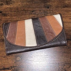 Axcess Tri-colored Wallet